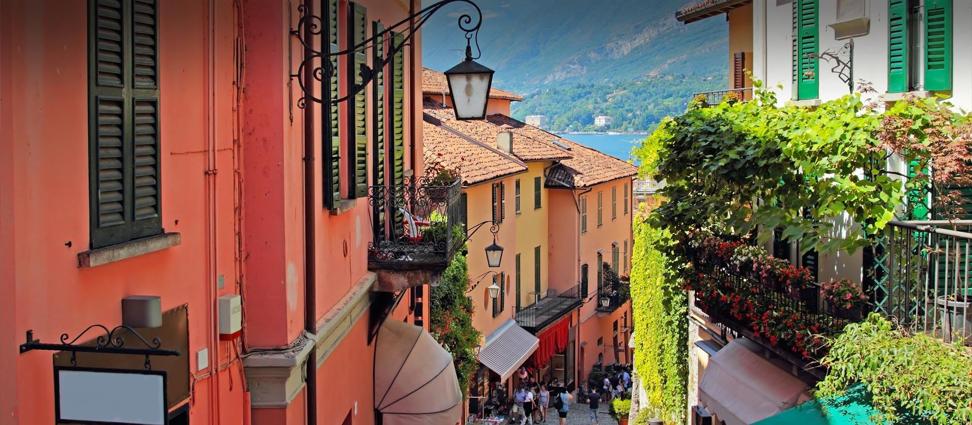 Serbelloni staircase Bellagio