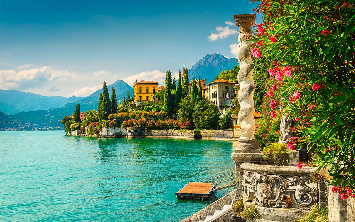 Parco botanico Villa Monastero, Varenna, Lago di Como
