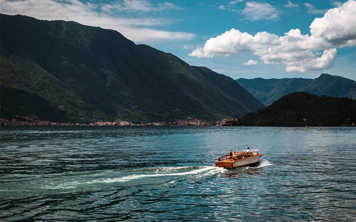 Navigazione privata sul Lago di Como