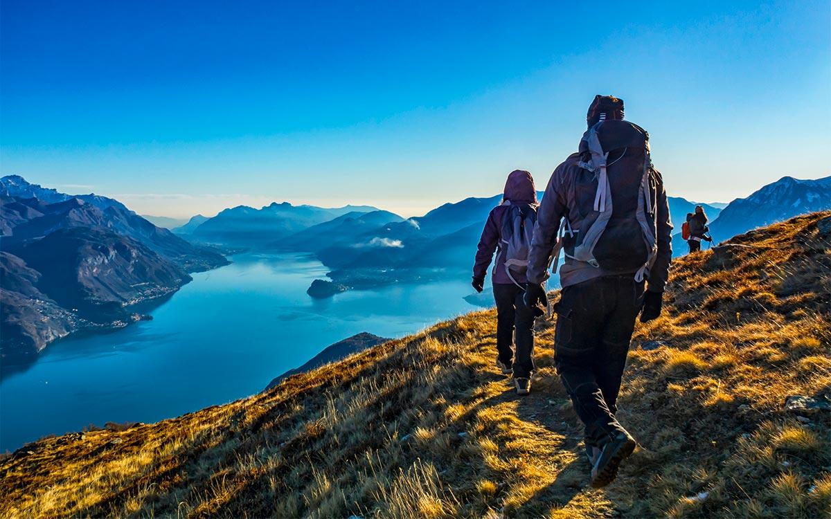 Escursioni sulle montagne del Lago di Como