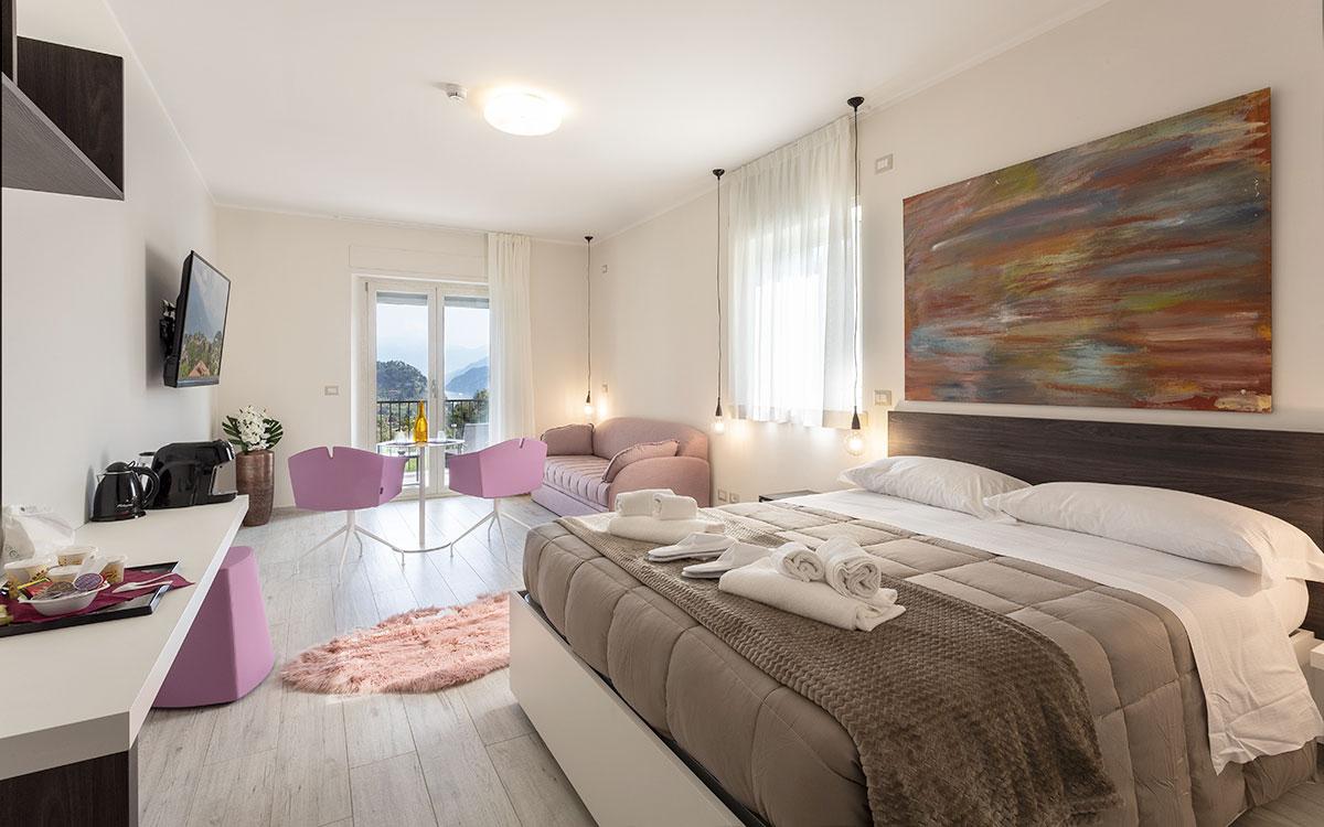 Hotel Domus Bellagio - camere lago di como